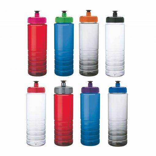 26 oz. PET Bottle with Pull Spout Lid