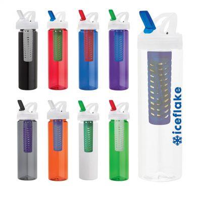 Laguna 32 oz. PET Bottle with Flip Spout & Infuser