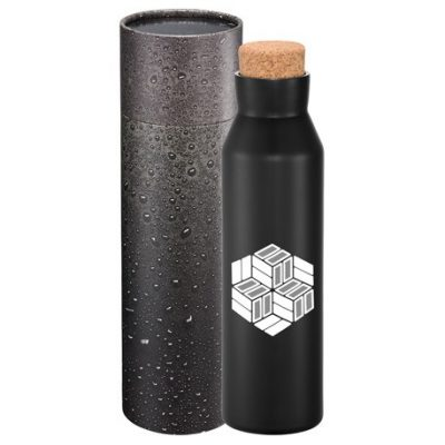 Norse Copper Vac Bottle 20oz With Cylindrical Box