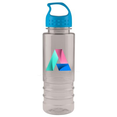 24 oz. Tritan™ Salute Sports Bottle - Crest Lid - digital imprint