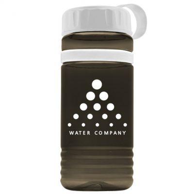 20 oz. Tritan Stripe Sports Bottle - Tethered Lid