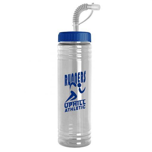 24 oz. Slim Fit Water Sports Bottle - Straw Lid
