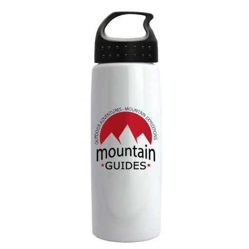 26 oz Metallic Flair Sports Bottle - Crest Lid