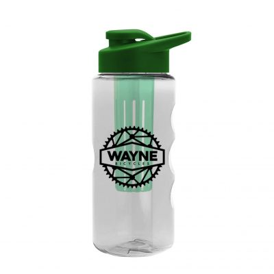 22 oz. Tritan Infuser Sports Bottle - Drink-Thru Lid