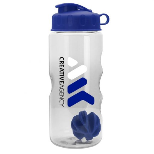 22 oz. Tritan Mini Shaker Sports Bottle - Flip Lid