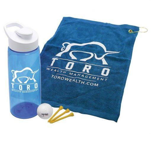 Golf Kit in a Tritan Bottle