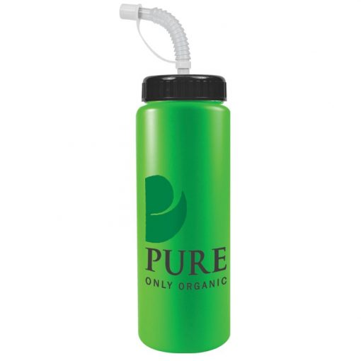 The Sports Quart - 32 Oz Bottle (Straw Lid)