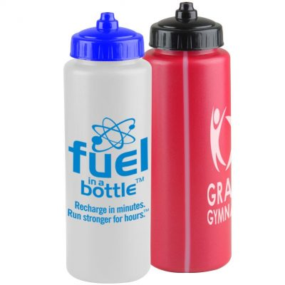 The Athlete - 32 oz. Sports Bottle - Valve Lid