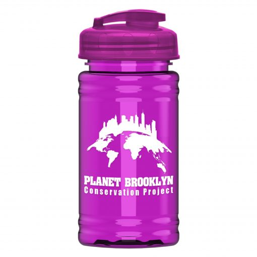 UpCycle - Mini 16 oz. rPet Sports Bottle with USA Flip Lid