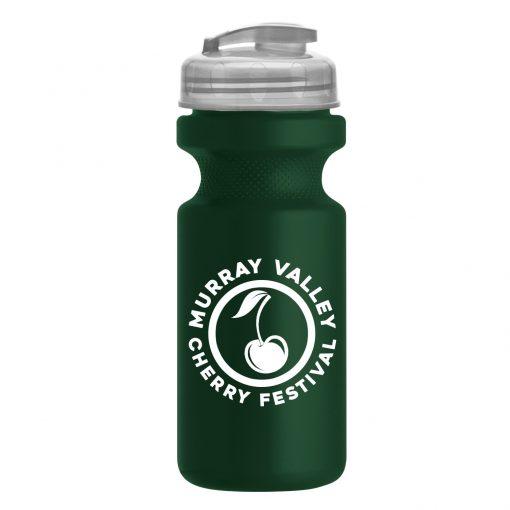 22 oz. Eco-Cycle Bottle with USA Flip Lid