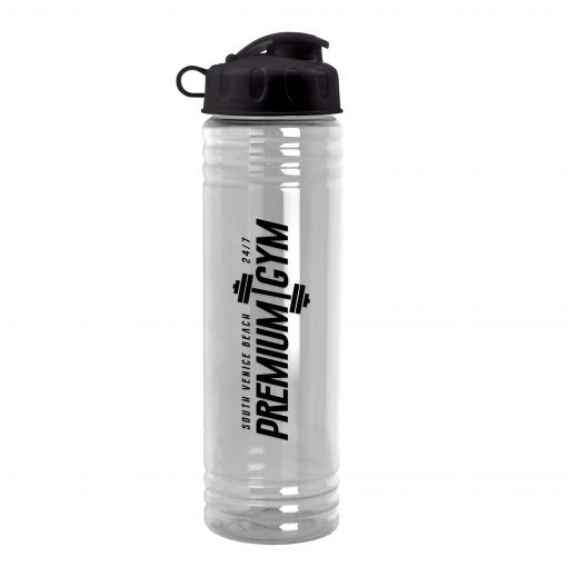 24 oz. Slim Fit Water Sports Bottle - Flip Top Lid