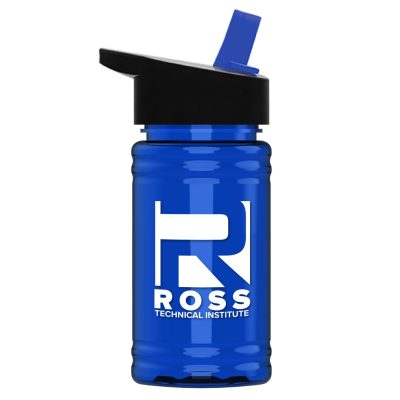 UpCycle - Mini 16 oz. rPet Sports Bottle with Flip Straw Lid