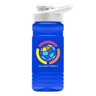 20 oz. UpCycle rPET Bottle Drink-Thru Lid - Digital