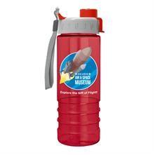 Salute2 - 24 oz. Tritan Bottle - Quick Snap Lid - Digital