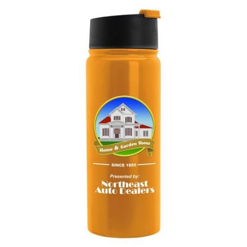 Cilindro Flip - 19 oz. Stainless Steel Vacuum Bottle - Digital