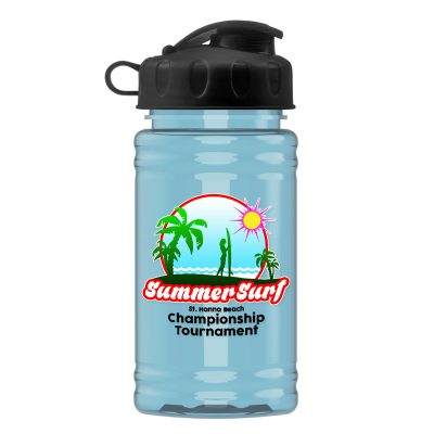 UpCycle Mini - 16 oz. rPET Sport Bottle with Flip Top Lid