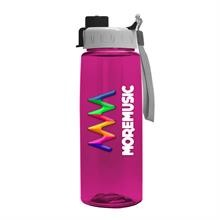 26 oz Tritan Flair Bottle with Quick Snap Lid - Digital