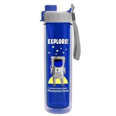 The Chiller 16 oz. Double Wall Insulated Bottle with Quick Snap Lid Digital