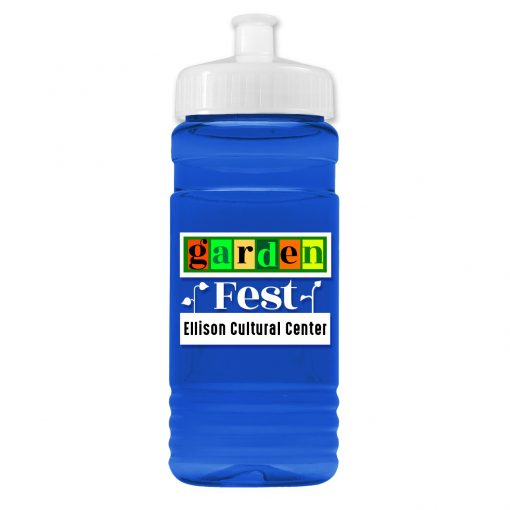 20 oz. UpCycle rPET Bottle Push Pull Lid - Digital