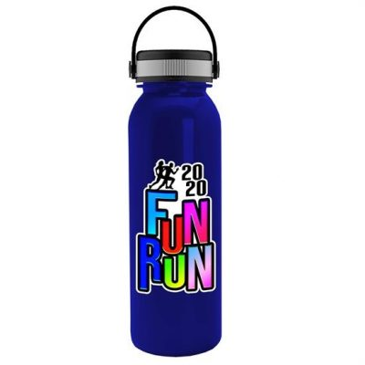 Terrain - 24 oz. Metalike Bottle - EZ Grip Handle Lid - Digital