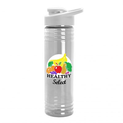 24 oz. Slim Fit Water Bottles with Drink-Thru Lid - Digital