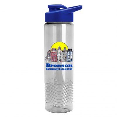 24oz Tritan Wave Bottle - Drink-thru Lid - Digital