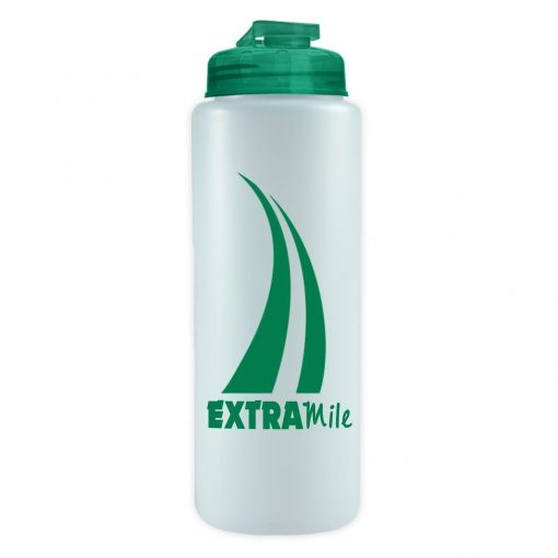 The Sports Quart USA Flip lid - 32 oz Sports Bottle